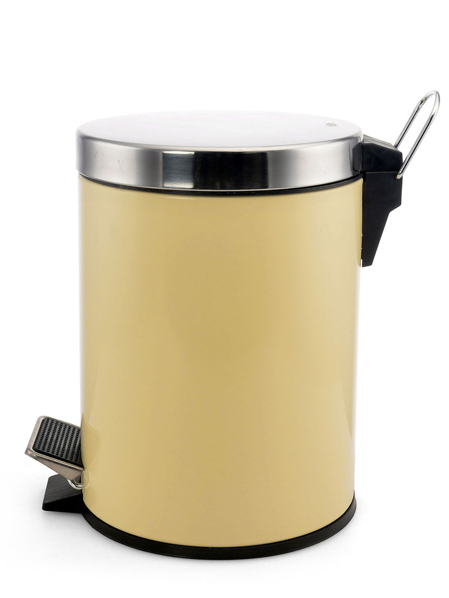 Classic Dustbin Step Bin 12 Liter (Cream)