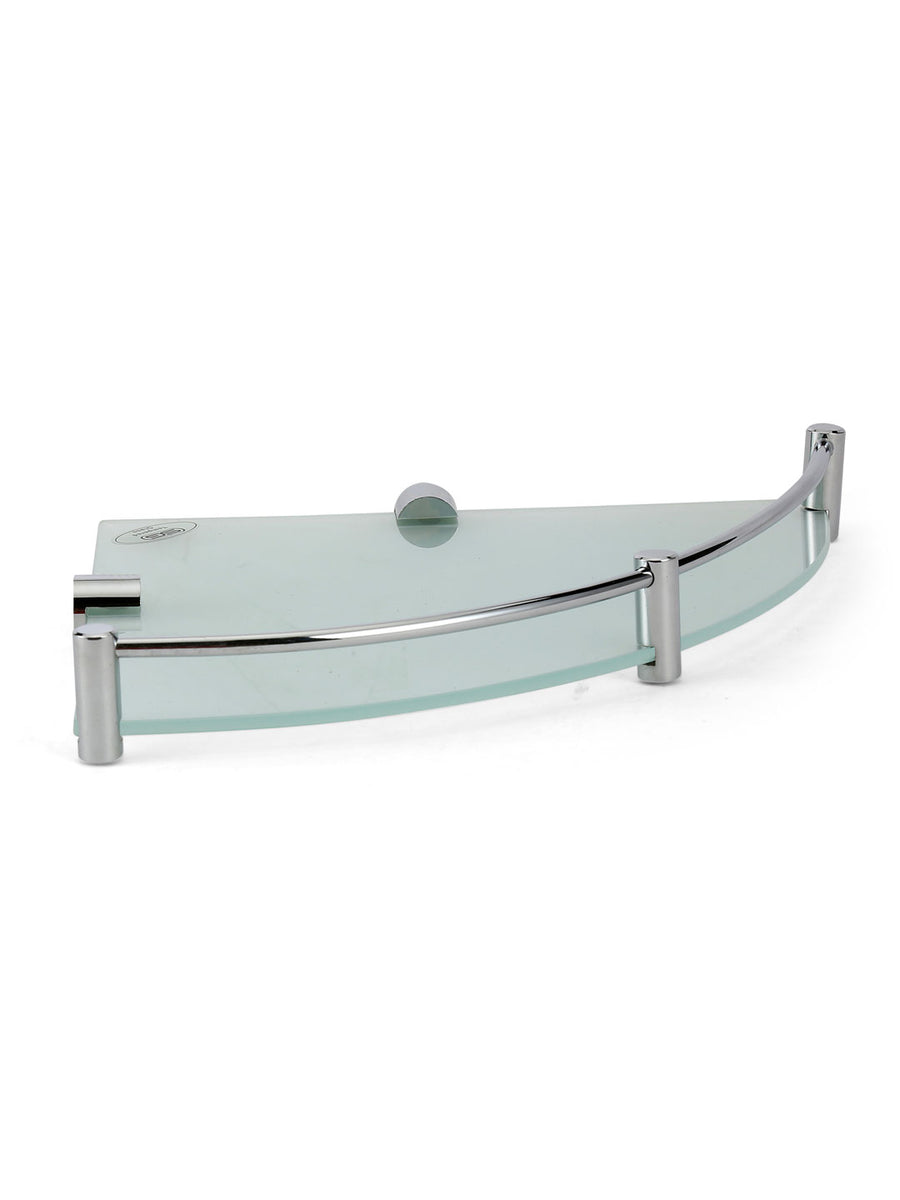 Frosted Corner Shelf (Silver)