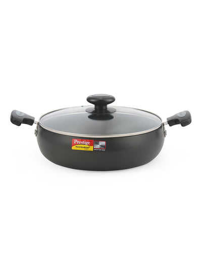 Saucepan with Lid (Black)