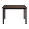 Alexios 4 Seater Dining Table (Brown)