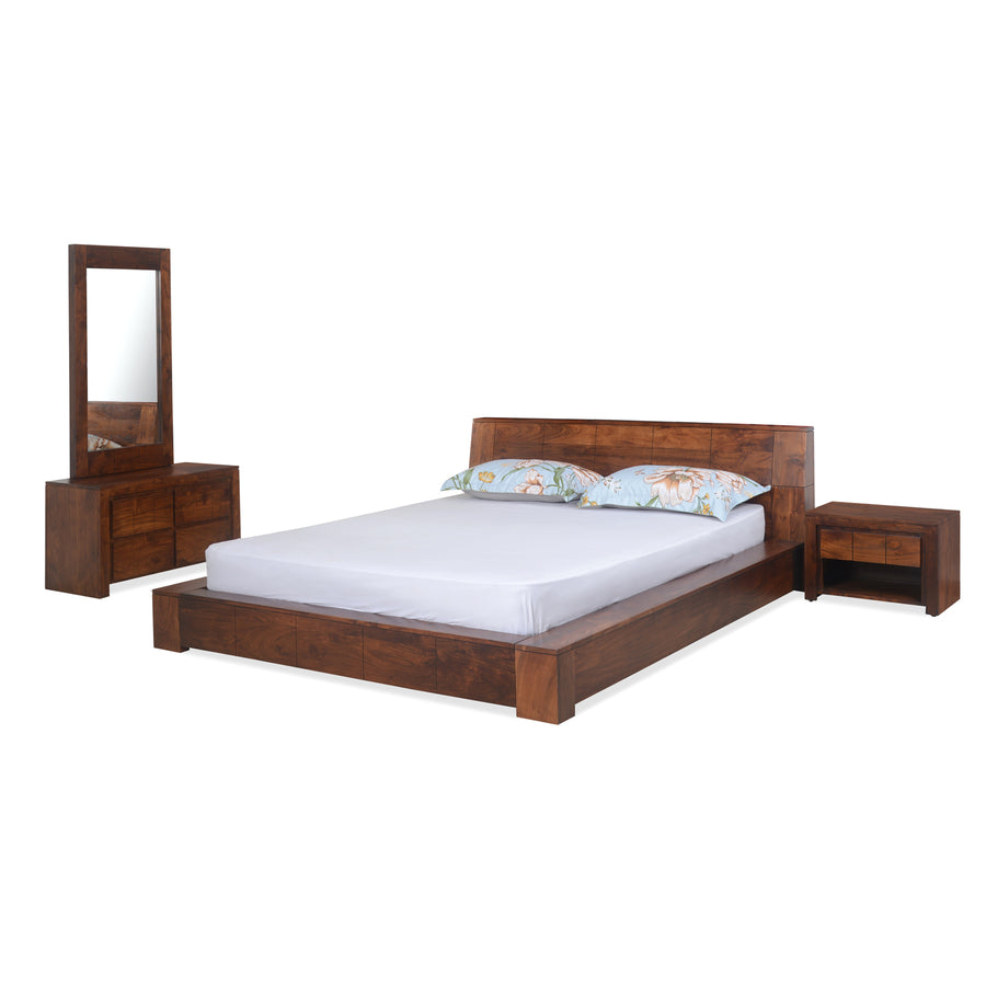 Amelia King Bedroom Set (Espresso)
