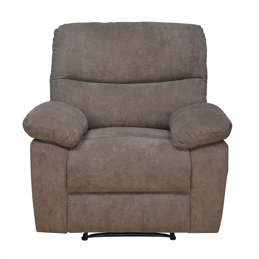 Amy 1 Seater Manual Recliner (Brown)