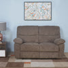 Amy 2 Seater Manual Recliner (Brown)