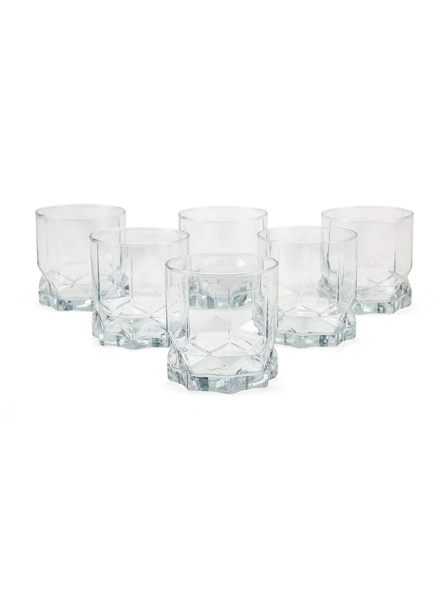 Future Whisk 320 ml Tumbler 6 Pieces (Clear)