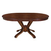 Avante 6 Seater Dining Table with Fixed Top (Brown)