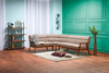 Adorn Corner Sofa (Brown)