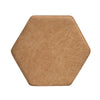 Barro Small Ottoman (Walnut)