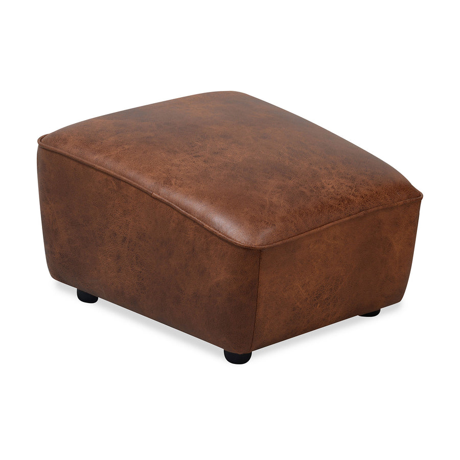 Beirut Square Ottoman (Brown)
