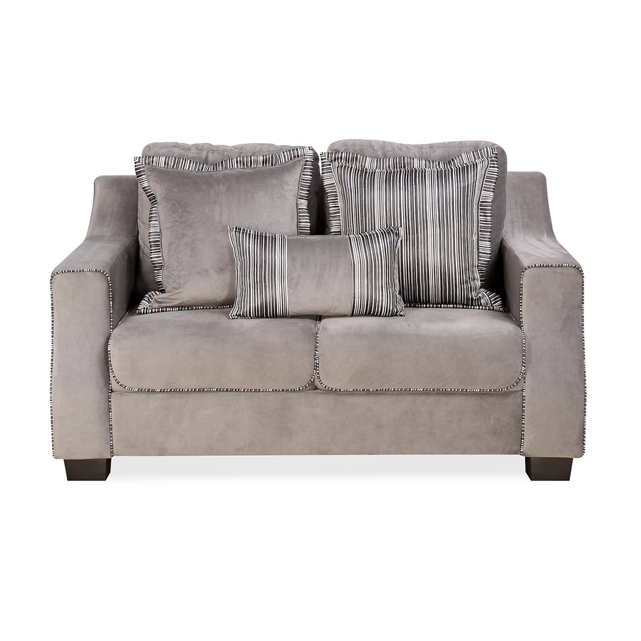 Bliss 2 Seater Sofa (Grey)