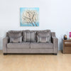 Bliss 3 Seater Sofa (Grey)
