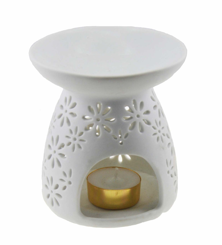 Song of India Round Burner (White)