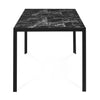 Caleb 6 Seater Dining Set (Black)