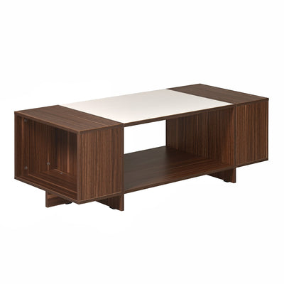 Carin Coffee Table (Walnut/Oak)