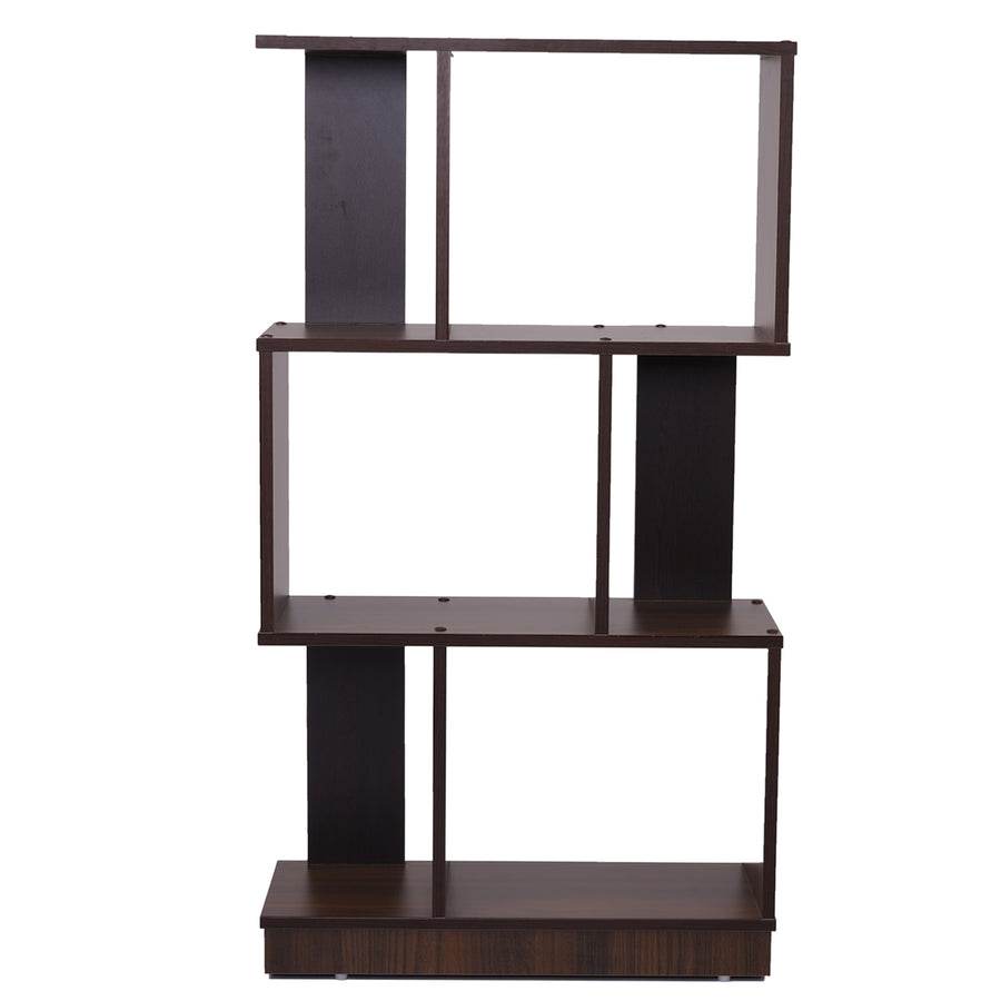 Checkers 3 Tier Book Shelf (Walnut)
