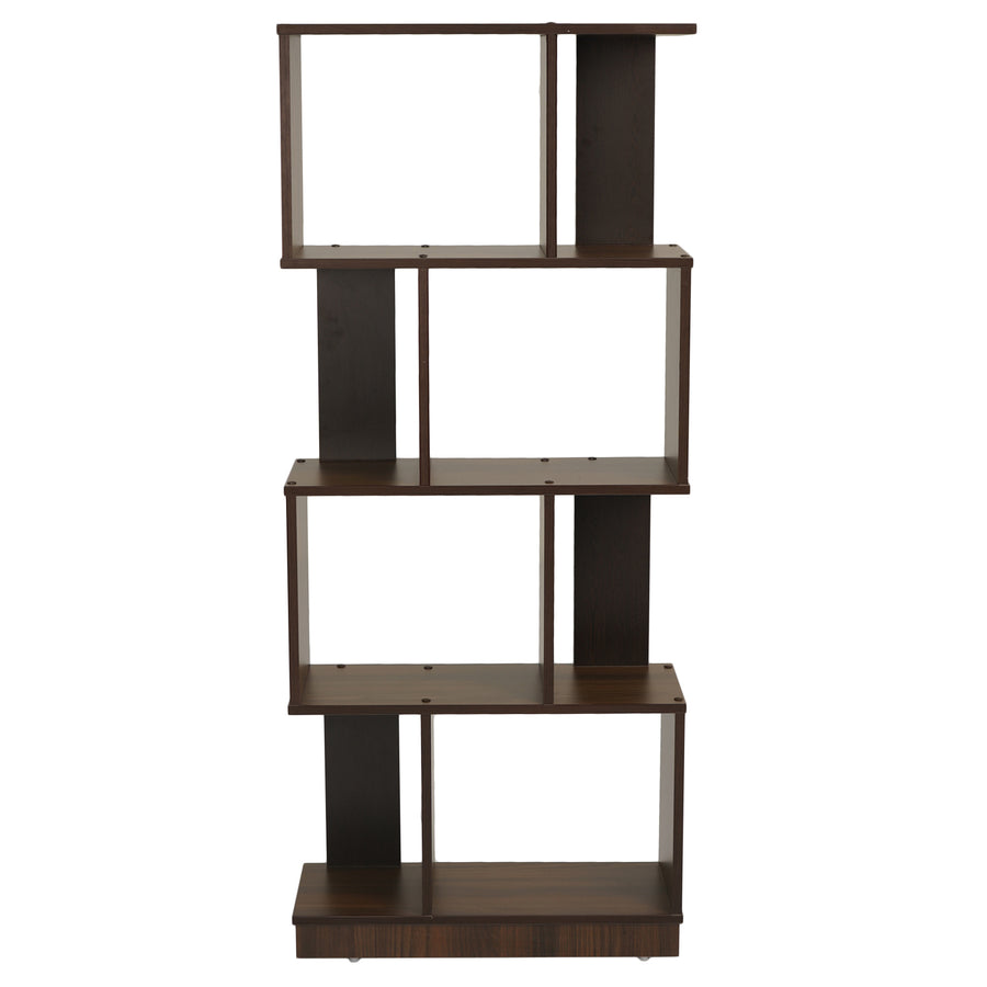 Checkers 4 Tier Book Shelf (Walnut)