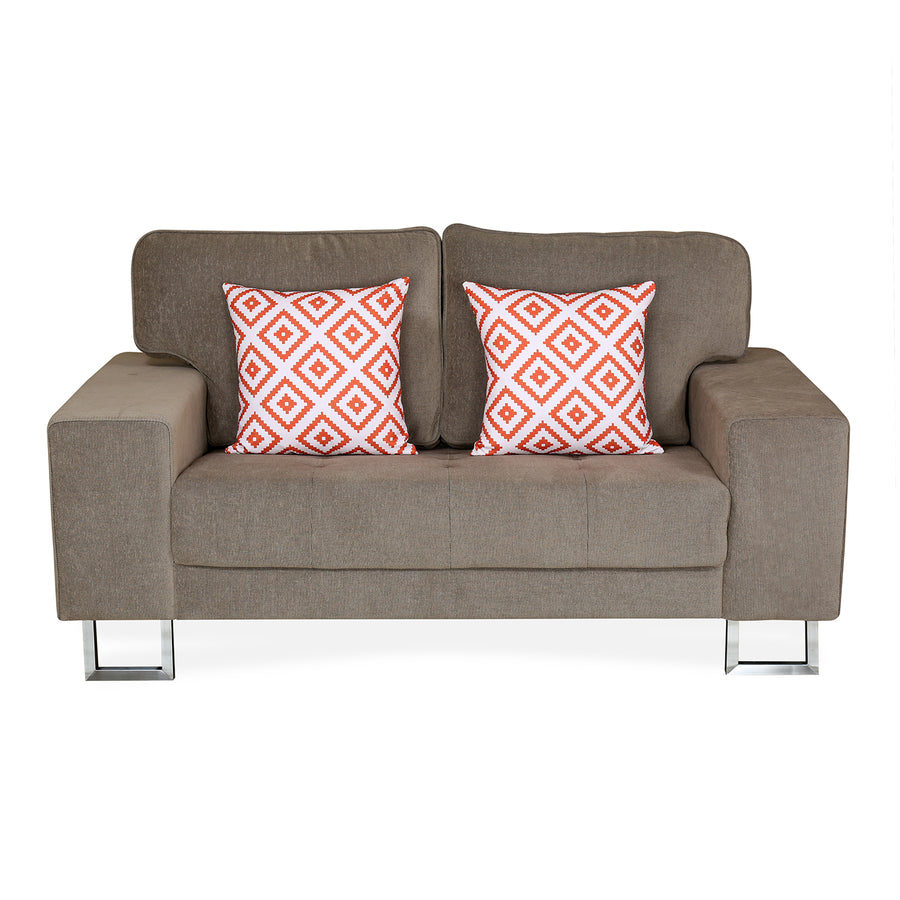 Chicago 2 Seater Sofa (Brown)