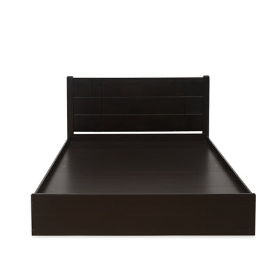 Cleopatra King Bed With Box Storage (Wenge)