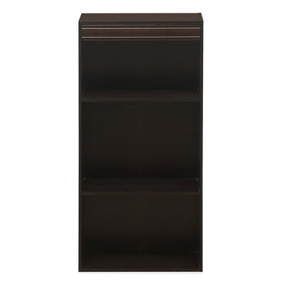 Cleopatra Night Stand With 2 Shelf (Wenge)