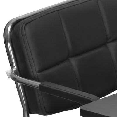 Contract 02 Chair with Half Tablet & Arm (Black)