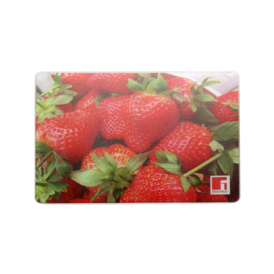 Bergner Rectangle Chopping Board (Red)