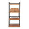 Dalton Desk with Bookshelf (Teak)