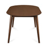 Devin 6 Seater Dining Table (Walnut)