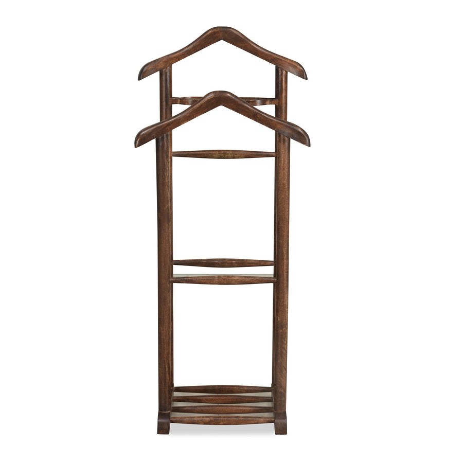 Duetto Cloth Hanger (Walnut)