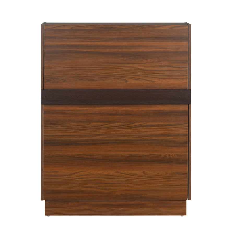 Envi Wall Mount Study Table (Walnut)