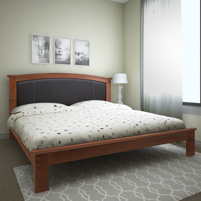 Morgan Queen Bed Without Storage (Antique Cherry)