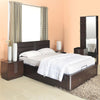 Triumph King Size Bedroom Set (Dark Walnut)