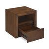 Lincoln King Bedroom Set With Night Stand and Dresser (Brown)