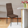 Ava Dining Chair (Dark Brown)