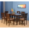 Crown 6 Seater Dining Set (Brown)