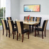 Desire + Jenn 8 Seater Dining Kit (Yellow and Walnut)