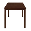 Jewel 4 Seater Dining Set (Brown)