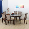 New Port Six Seater Dining Set (Cappucino)