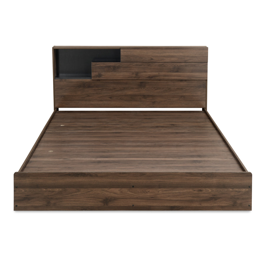 Borden King Bed With Night Stand (Wenge)