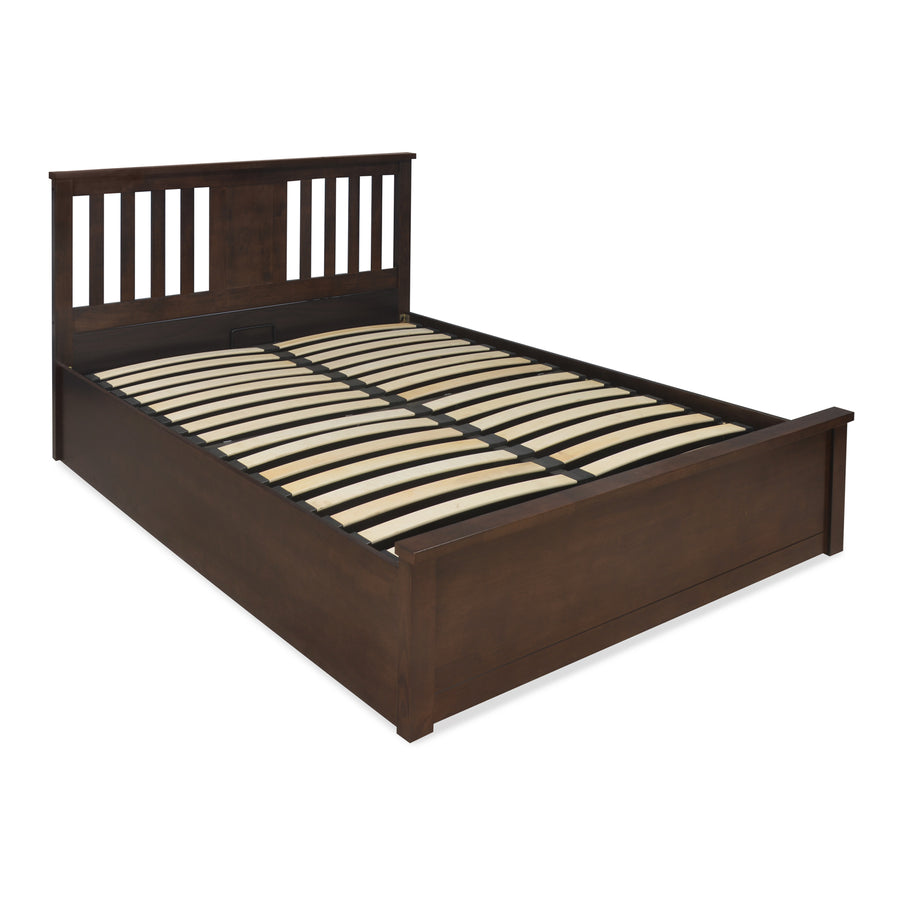 Montreal King Bedroom Set With Wardrobe  (Brown)