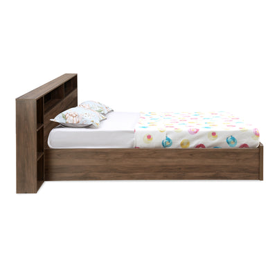 Torrie King Bed With Night Stand (Wenge)