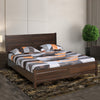 Zerlin King Bed With Out Storage (Dark Walnut)