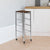Simba 5 Tier Kitchen Storage Trolley (Silver)