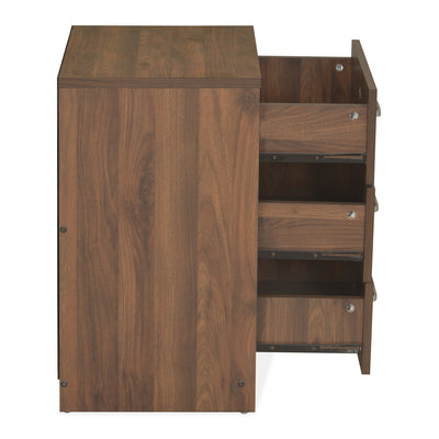 Borden King Bed With Torrie Night Stand (Wenge)