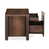 Zerlin King Bedroom Set With Two Door Wardrobe (Brown)