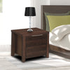 Zerlin Night Stand (Dark Walnut)