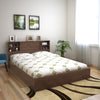 Garren Queen Bed With Headboard Box Storage (Wenge)