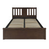 Montreal Queen Bedroom Set With Wardrobe (Brown)