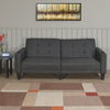Archie 3 Seater Sofa cum Bed (Grey)