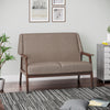 Burton 2 Seater Sofa (Brown)