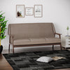 Burton 3 Seater Sofa (Brown)