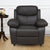 Civic 1 Seater Sofa (Mega Brown)